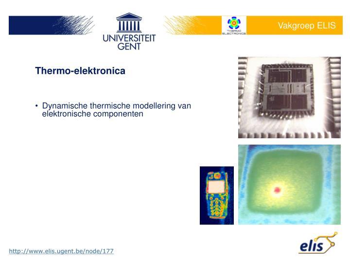 Thermo-elektronica