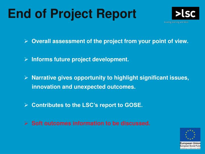 End of Project Report