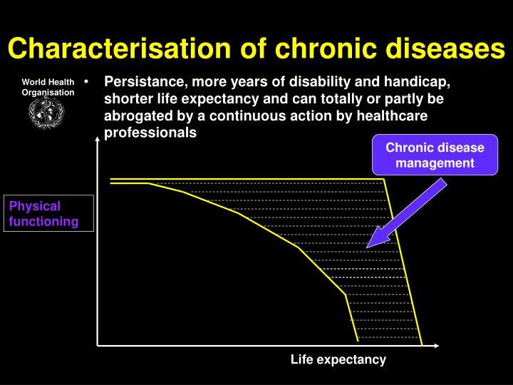 Characterisation of chronic diseases