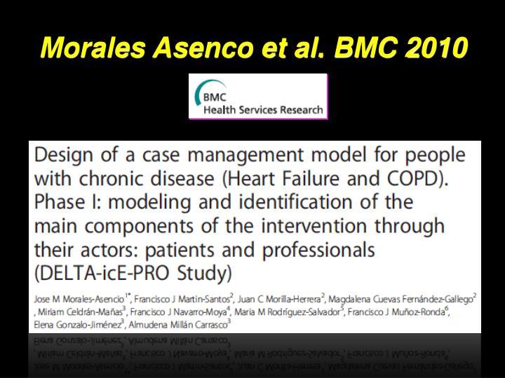 Morales Asenco et al. BMC 2010