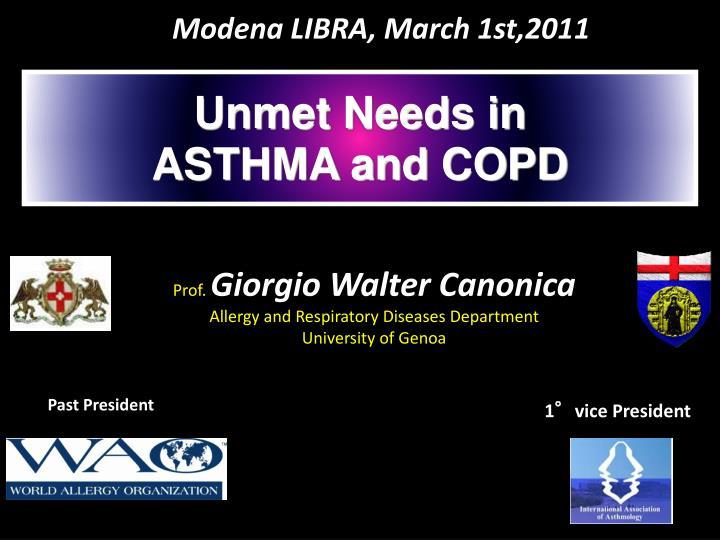 Modena LIBRA, March 1st,2011
