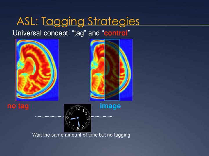 ASL: Tagging Strategies