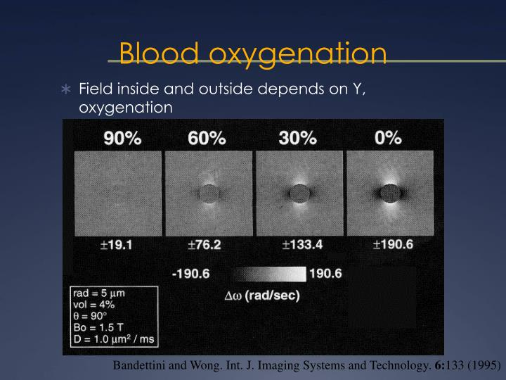 Blood oxygenation