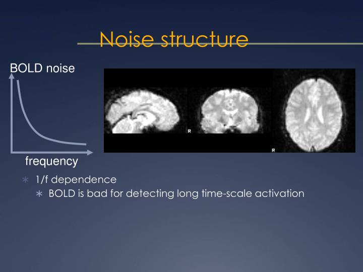 Noise structure