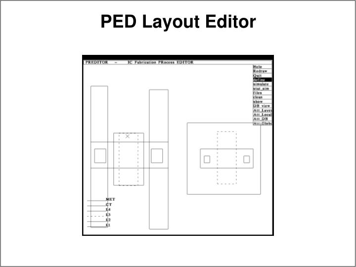 PED Layout Editor