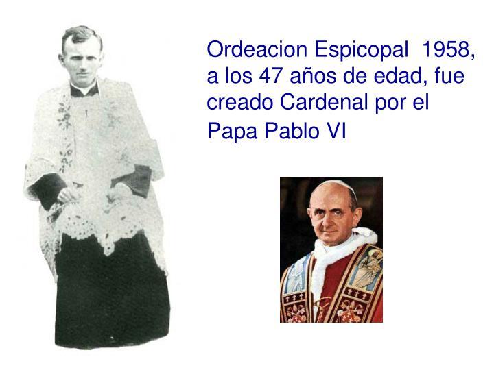 Ordeacion Espicopal