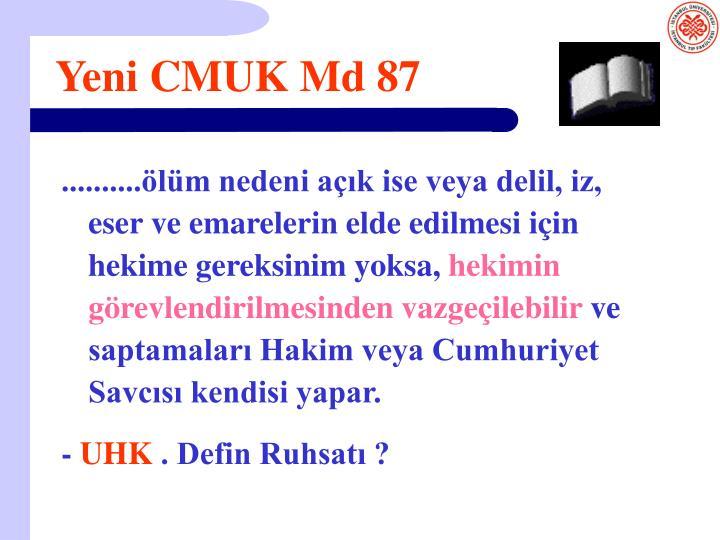 Yeni CMUK Md 87