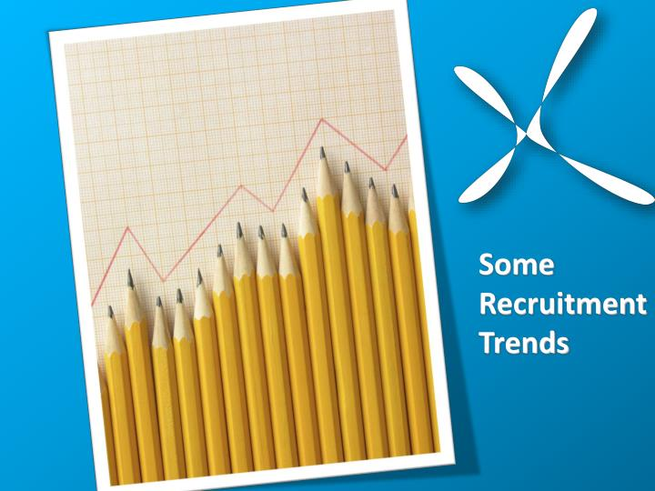 Some RecruitmentTrends