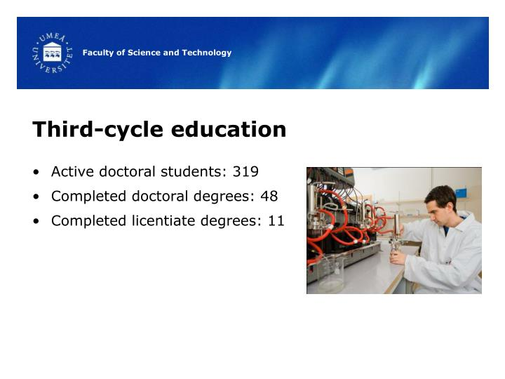Third-cycle education