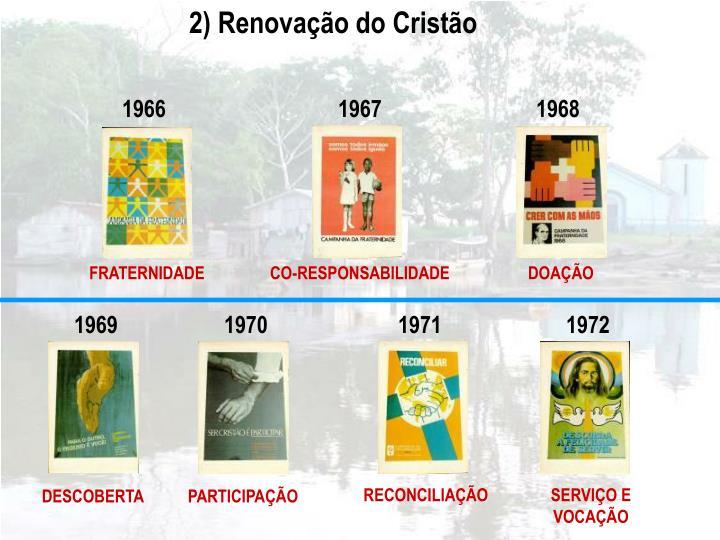 2) Renovação do Cristão