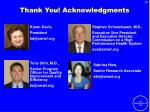 thank you acknowledgments