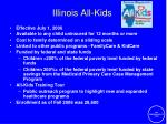 illinois all kids