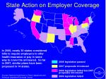 state action on employer coverage