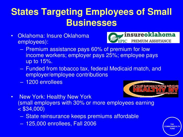 States Targeting Employees of Small Businesses