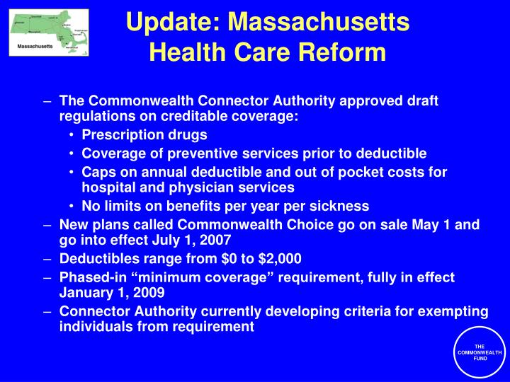 Update: Massachusetts