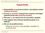 sequentiality