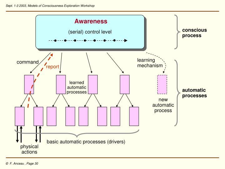 (serial) control level