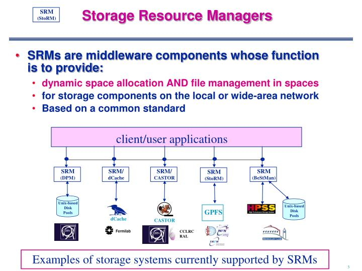Storage Resource Managers