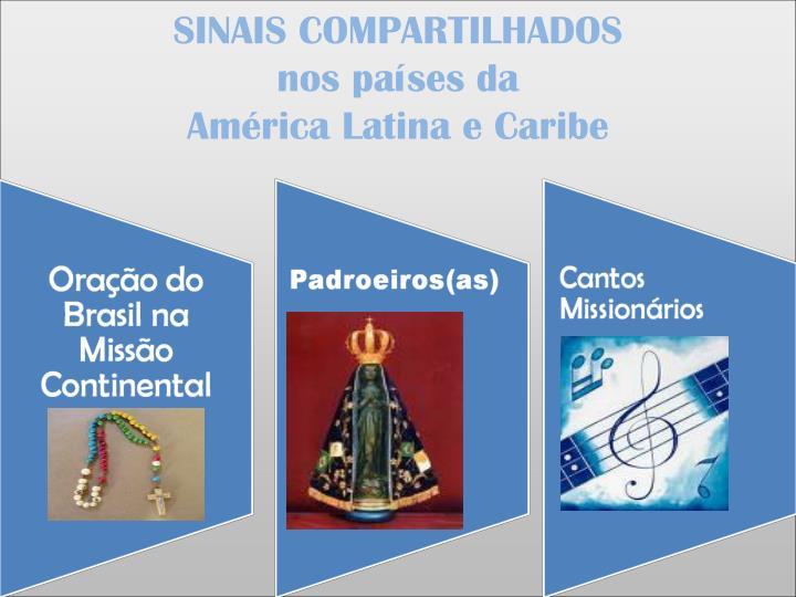 SINAIS COMPARTILHADOS