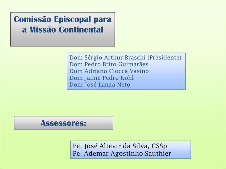 Comissão Episcopal para a Missão Continental
