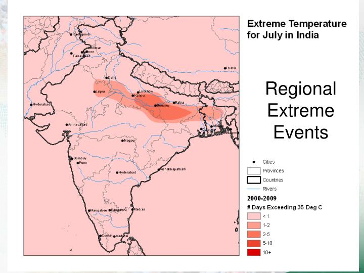 Regional Extreme Events