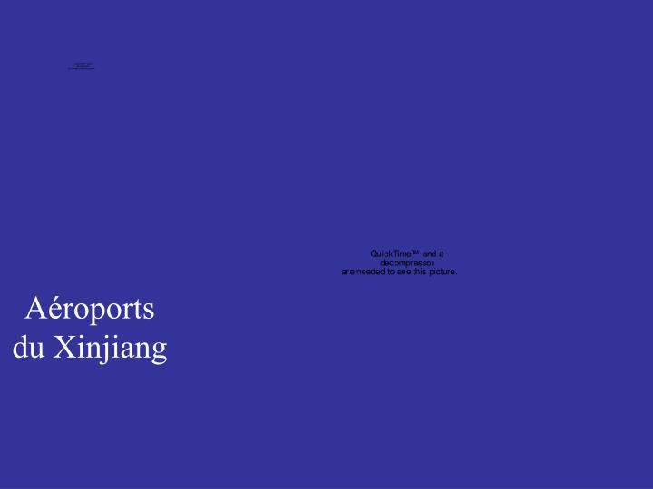 Aéroports du Xinjiang
