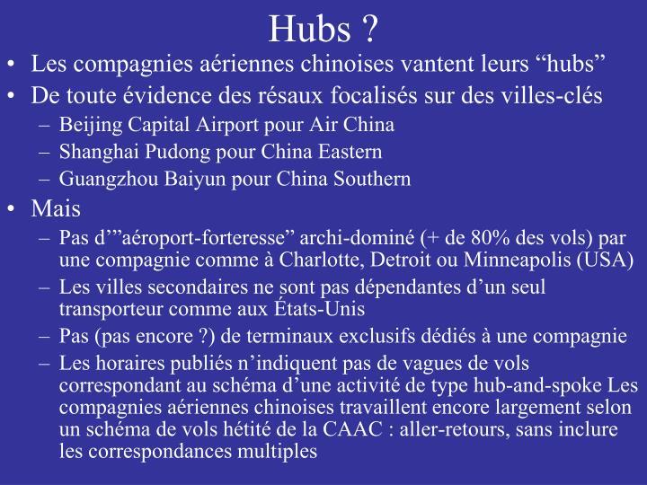 Hubs ?