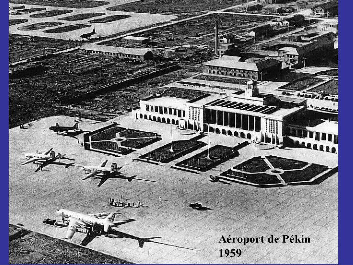 Aéroport de Pékin 1959