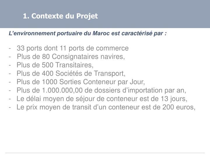 1. Contexte du Projet