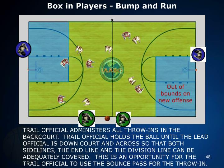 Box in Players - Bump and Run