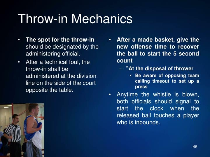 Throw-in Mechanics