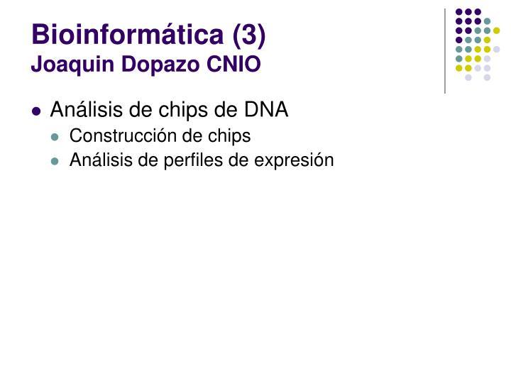 Bioinformática (3)