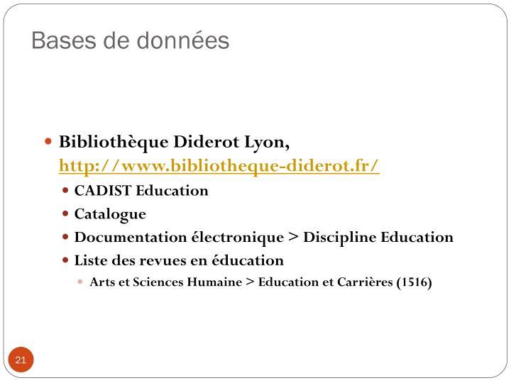 Bibliothèque Diderot Lyon,