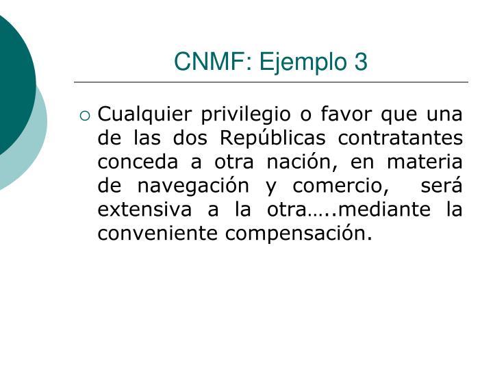 CNMF: Ejemplo 3