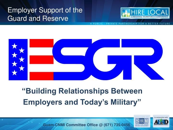 Employer Support of the