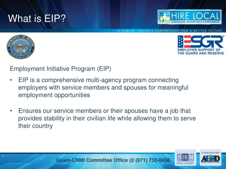 What is EIP?