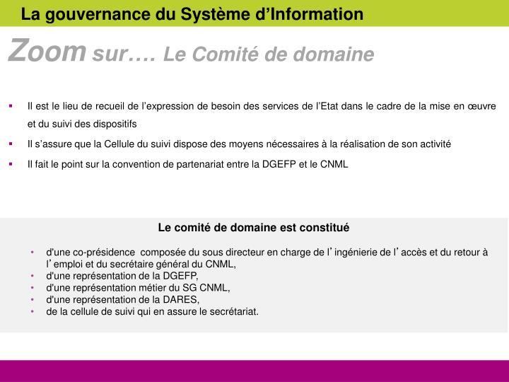 La gouvernance du Système d