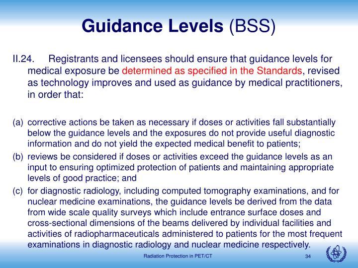 Guidance Levels