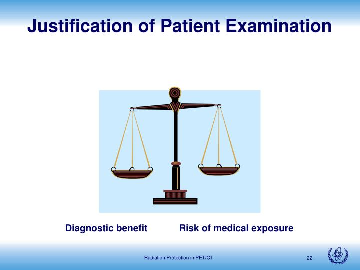 Justification of Patient Examination