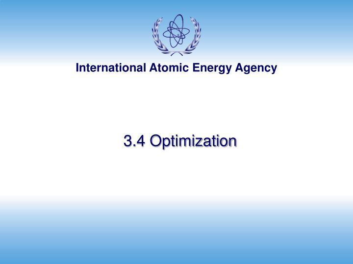 3.4 Optimization