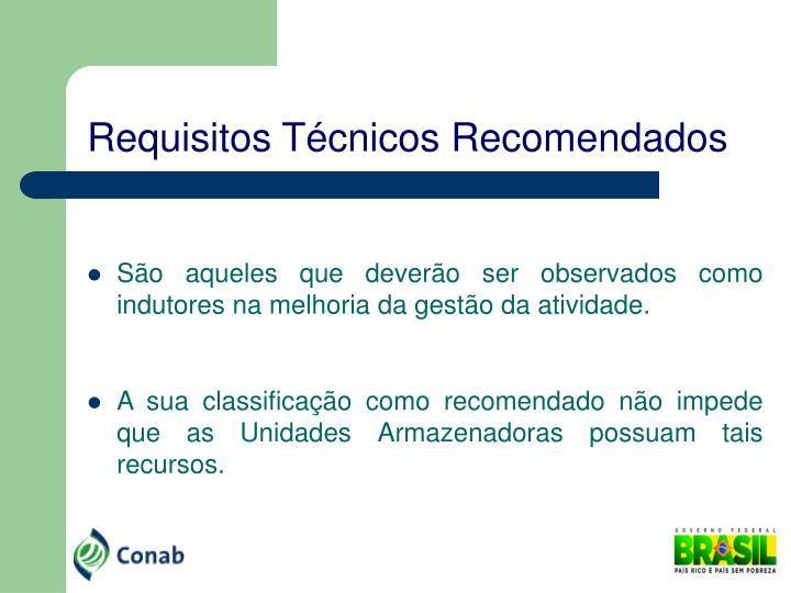Requisitos Técnicos Recomendados