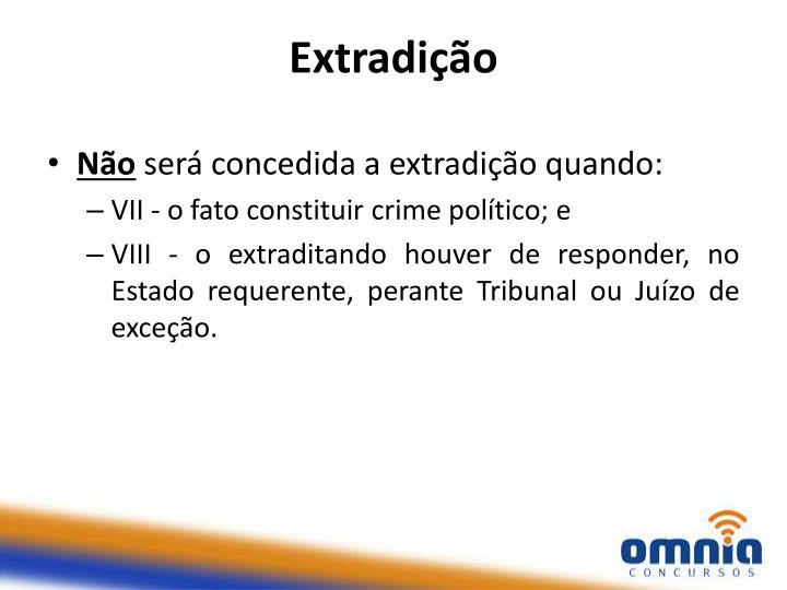 Extradição