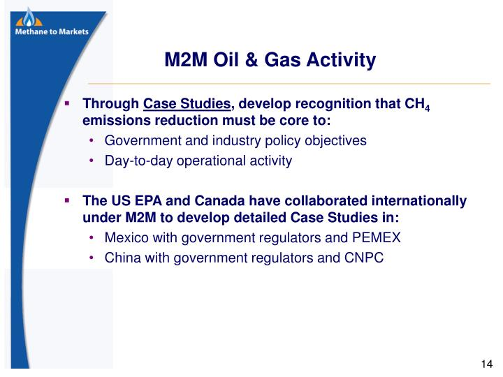 M2M Oil & Gas Activity