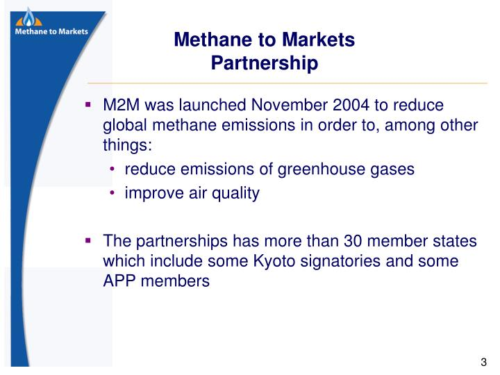 Methane to Markets