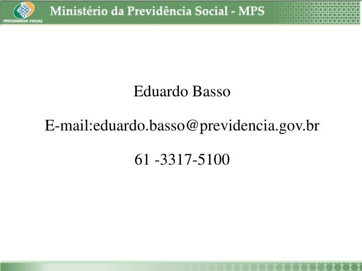 Eduardo Basso