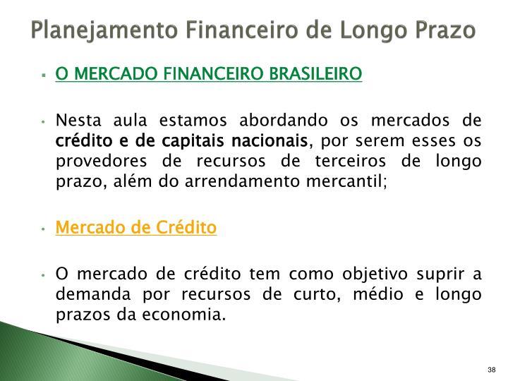 Planejamento Financeiro de Longo Prazo