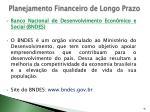 planejamento financeiro de longo prazo26