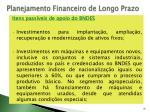 planejamento financeiro de longo prazo30