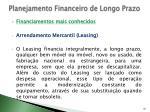 planejamento financeiro de longo prazo33