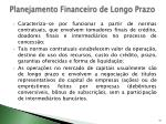 planejamento financeiro de longo prazo9